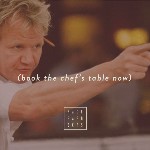 Book the Chefs Table FITZROY